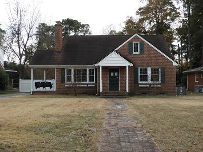 Goldsboro Single Family Home For Sale: 1504 E Holly St