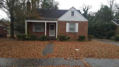 Goldsboro Single Family Home For Sale: 908 E Walnut St