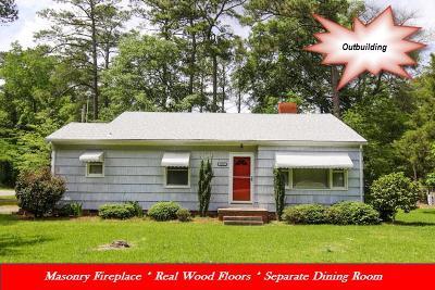Goldsboro Single Family Home For Sale: 1907 N Berkeley Blvd