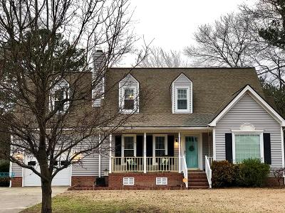 Goldsboro Single Family Home For Sale: 501 Gold Leaf