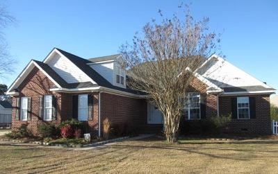 Goldsboro Single Family Home For Sale: 505 Adler Lane