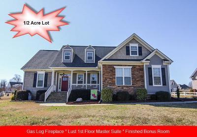 Goldsboro Single Family Home For Sale: 212 Gator Dr