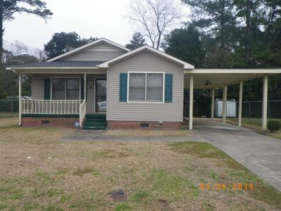 Goldsboro Single Family Home For Sale: 308 Creech St