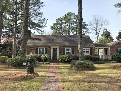Goldsboro Single Family Home For Sale: 218 Pine Circle