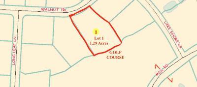 Goldsboro Residential Lots & Land For Sale: 100 Walnut Trail