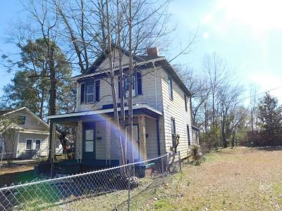 Goldsboro Single Family Home For Sale: 614 W Walnut St
