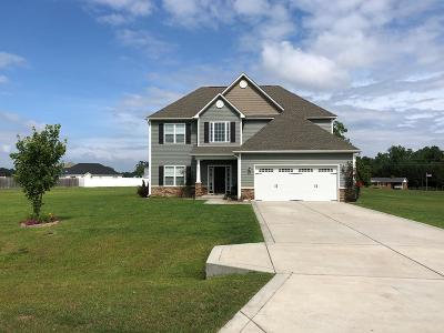 Goldsboro Single Family Home For Sale: 404 Bunning Dr.