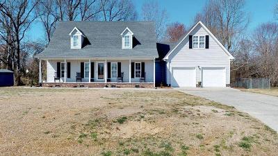 Goldsboro Single Family Home For Sale: 207 Delbert Dr