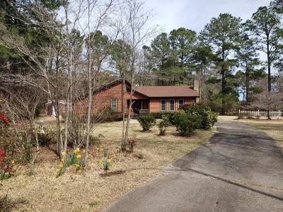 Goldsboro Single Family Home For Sale: 105 Trollingwood Dr