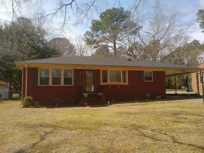 Goldsboro Single Family Home For Sale: 1011 S Andrews Ave
