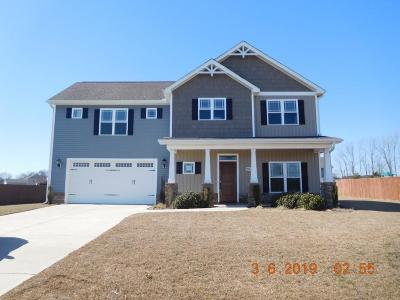 Goldsboro Single Family Home For Sale: 205 Ingram Fields Drive