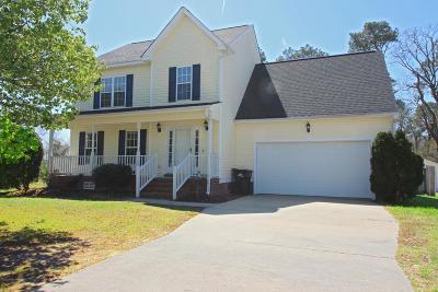Goldsboro Single Family Home For Sale: 208 Suttons Run Drive