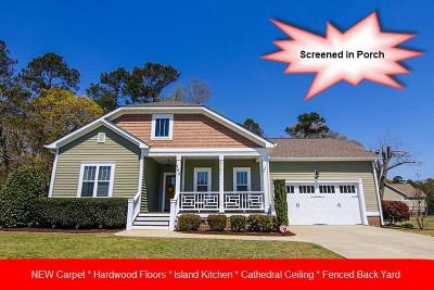 Goldsboro Single Family Home For Sale: 103 W Stargrass Circle