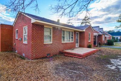 Goldsboro Single Family Home For Sale: 1812 E Palm