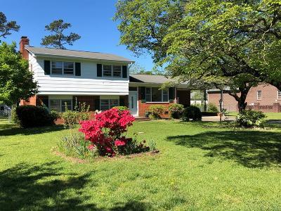 Goldsboro Single Family Home For Sale: 2612 Burtus Drive