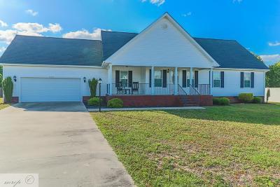 Goldsboro Single Family Home For Sale: 509 Heron Drive
