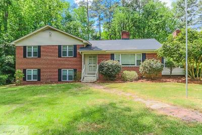 Goldsboro Single Family Home For Sale: 215 S Spence Ave
