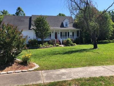 Goldsboro Single Family Home For Sale: 502 E Raintree Lane