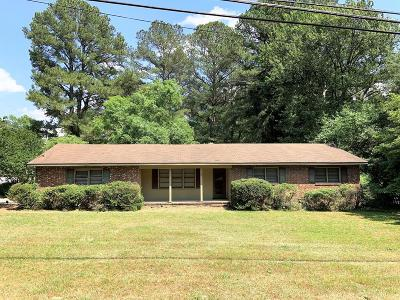 Goldsboro Single Family Home For Sale: 1608 Salem Church Rd