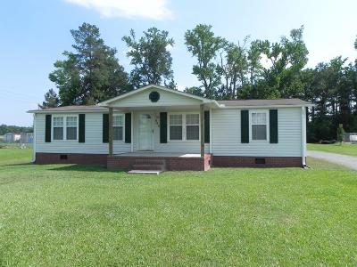 Goldsboro Manufactured Home For Sale: 846 Hood Swamp Road