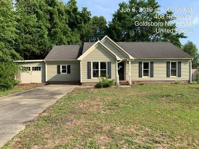 Goldsboro Single Family Home For Sale: 408 Renee Dr