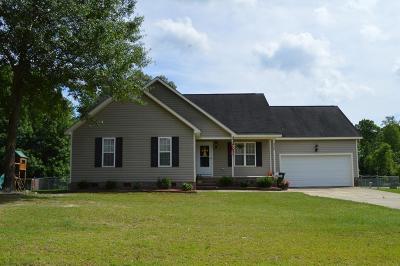 Goldsboro Single Family Home For Sale: 420 Twin Creeks Drive
