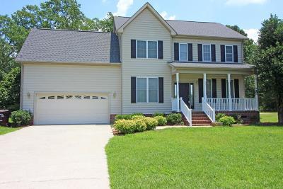 Goldsboro Single Family Home For Sale: 404 Adler Lane