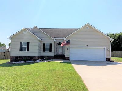 Goldsboro Single Family Home For Sale: 105 Barkridge Pl