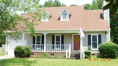 Goldsboro Single Family Home For Sale: 109 North Pointe Drive