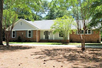 Goldsboro Single Family Home For Sale: 208 Walnut Creek Dr