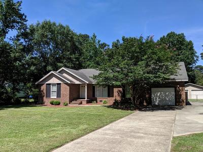 Goldsboro Single Family Home For Sale: 1637 N Nc Hwy 111