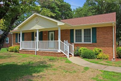 Single Family Home For Sale: 215 Holly Road