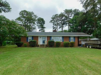 Goldsboro Single Family Home For Sale: 4110 Us Hwy 13 N