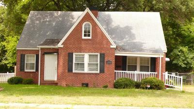 Goldsboro Single Family Home For Sale: 315 E Chestnut
