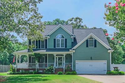 Goldsboro Single Family Home For Sale: 213 Creekside Drive