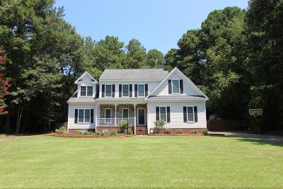 Goldsboro Single Family Home For Sale: 102 Hyacinth