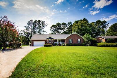Goldsboro Single Family Home For Sale: 1813 O'berry Center Road