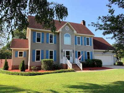 Goldsboro Single Family Home For Sale: 406 N Cottonwood Dr