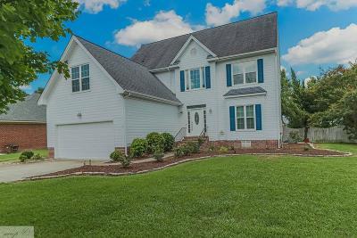 Goldsboro Single Family Home For Sale: 206 Creekside Dr