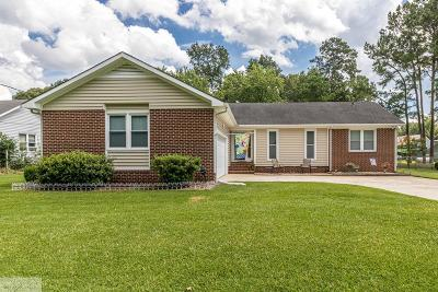 Goldsboro Single Family Home For Sale: 1266 Mark Edwards Road