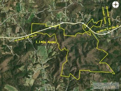 Alexander County, Burke County, Caldwell County, Ashe County, Avery County, Watauga County Residential Lots & Land For Sale: C Highway 64 90