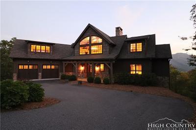 Watauga County Single Family Home For Sale: 315 Morgan's Ridge Drive