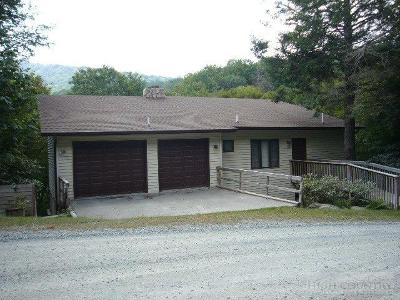 Beech Mountain Single Family Home For Sale: 240 Greenbrier