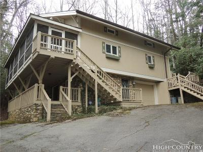 Watauga County Single Family Home For Sale: 143 Sycamore