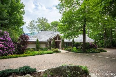 Linville Single Family Home For Sale: 1012 Ridge Drive