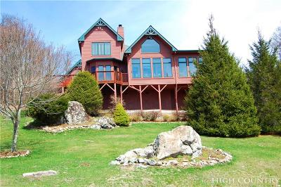 Alexander County, Ashe County, Avery County, Burke County, Caldwell County, Watauga County Single Family Home Under Contract - Show: 135 Sunset Strip
