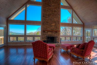 Banner Elk Single Family Home For Sale: 420/422 Crest Hill