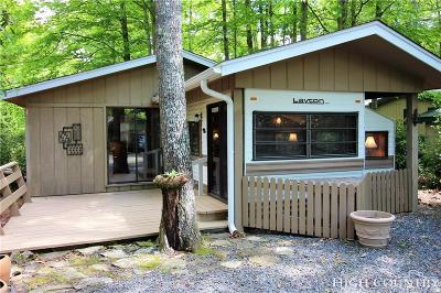 Caldwell County, Alexander County, Watauga County, Ashe County, Avery County, Burke County Single Family Home For Sale: 123 Whispering Pine Loop