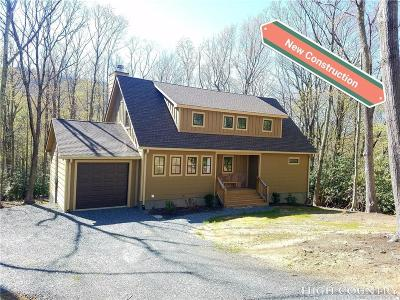 Ashe County, Avery County, Burke County, Alexander County, Caldwell County, Watauga County Single Family Home Under Contract - Show: 404 Signature Ridge Road
