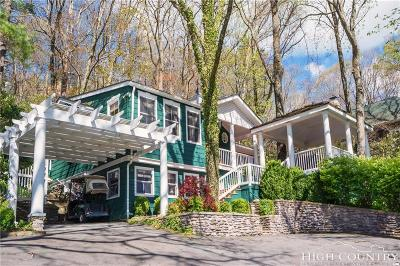 Blowing Rock Single Family Home For Sale: 654 Goforth Road